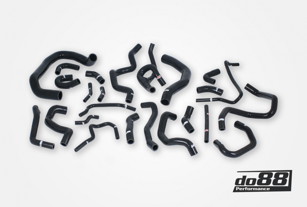 AUDI SEAT SKODA VW 1.8 / 2.0 TSI (MQB) Kühlerschläuche (24 Stück)