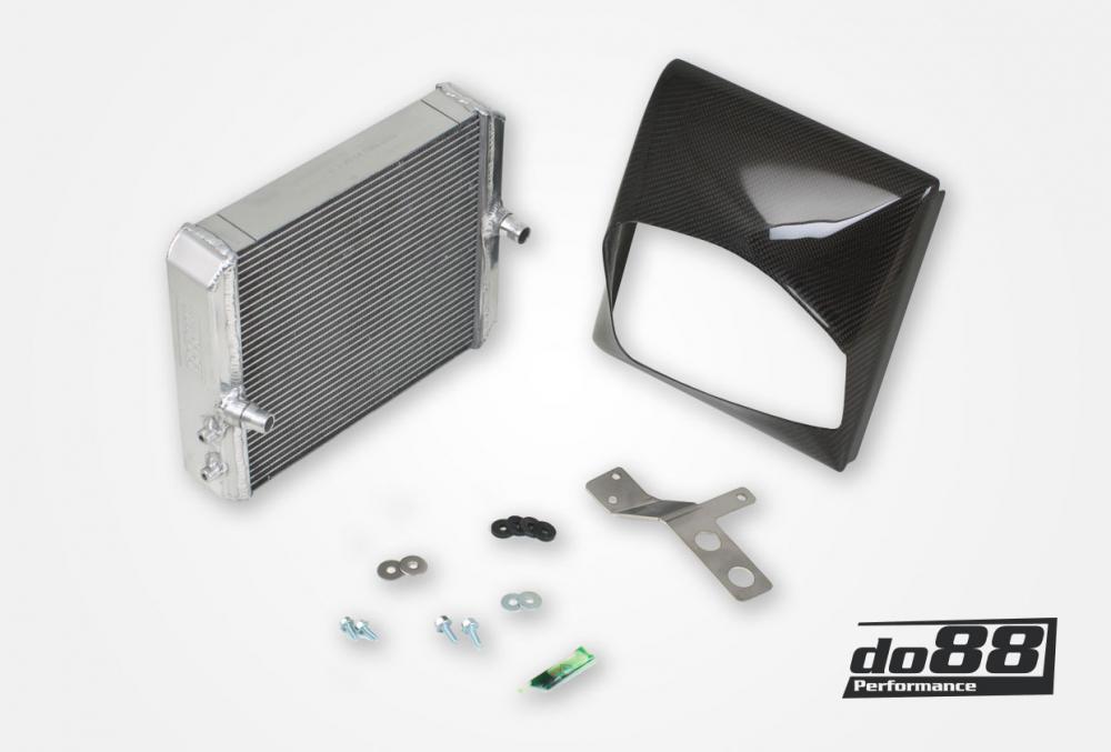 BMW M2 Ausgelagerter Kühlmittelkühler Aluminium